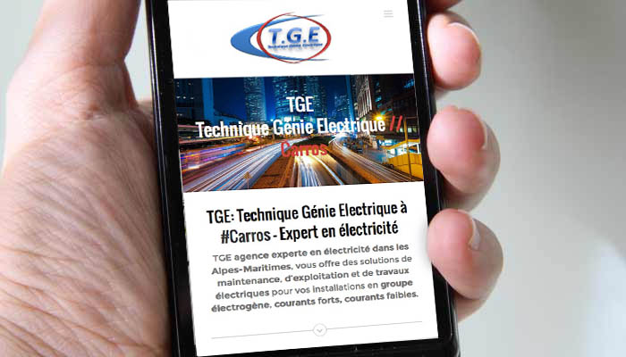 TGE carros electricite